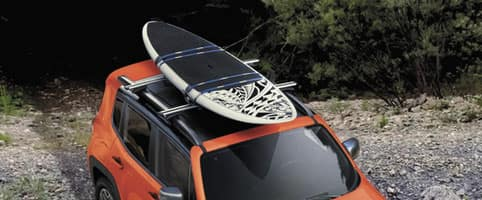 2015 Jeep Renegade Mopar Roof Rack