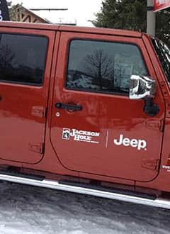 Jeep Jackson Hole - Inscríbete para ganar