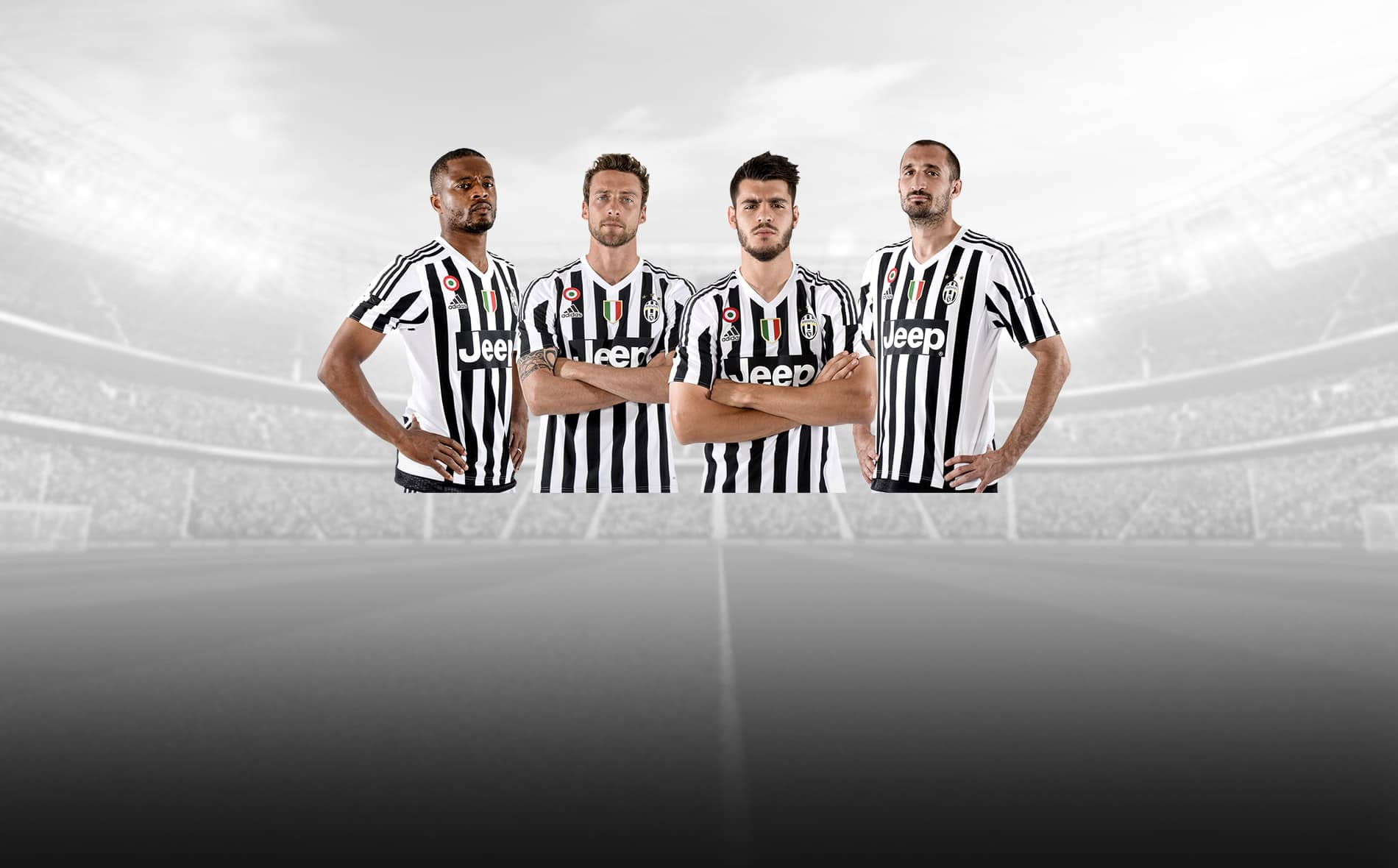 Jeep 2015 patrocina a Juventus Football Club