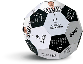 Calendario de fútbol de Jeep Juventus 2015