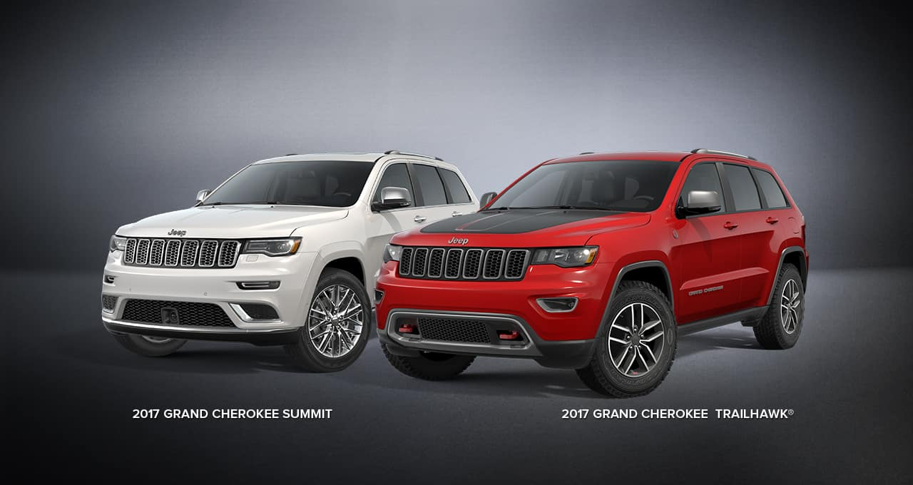 2017 jeep grand cherokee - trailhawk and summit