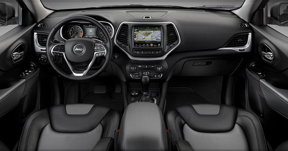 2014 Jeep Cherokee - Interior Features of a Full Sized SUV