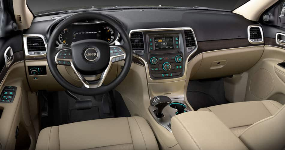 2014 Jeep Grand Cherokee Interior Leather Seats 6 Speakers Jeep