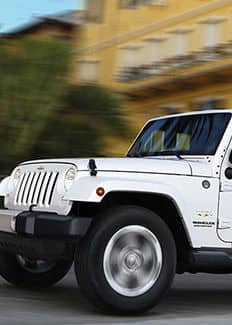 Wrangler Unlimited 2014, blanco
