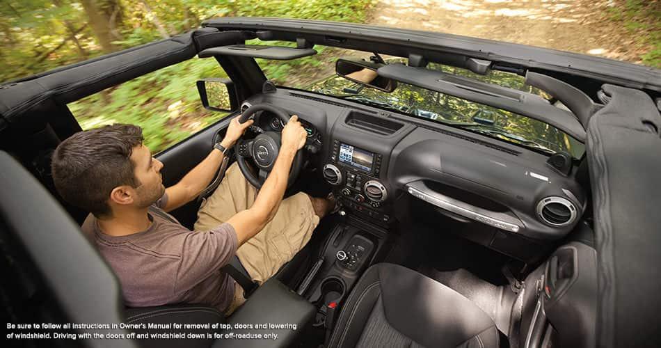 Jeep Wrangler 2014 2 Door Interior