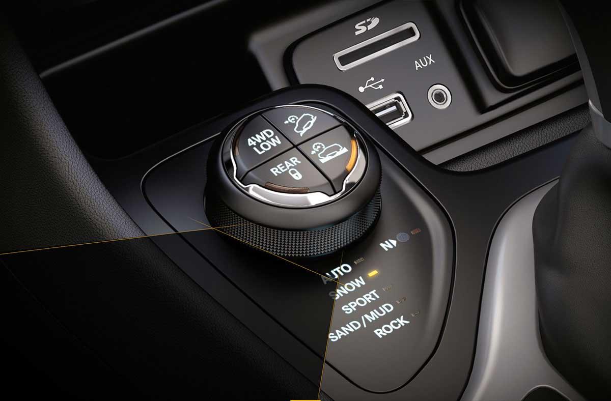 Jeep Cherokee 2015 - Dial Selec-Terrain