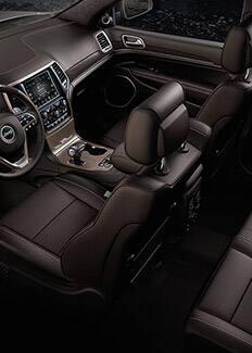 Interior del Jeep Grand Cherokee 2015