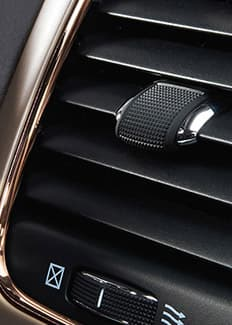 2015 Jeep Grand Cherokee copper accent air vent