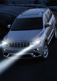 Faros antiniebla del Jeep Grand Cherokee 2015