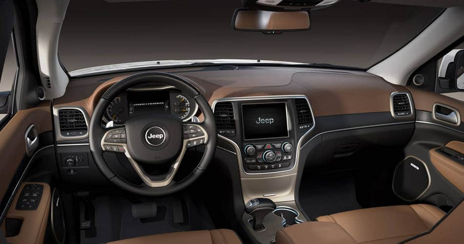 2015 Jeep Grand Cherokee  Comfortable Interior Features