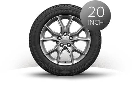 2015 Jeep Grand Cherokee 20-Inch Satin Carbon Wheels