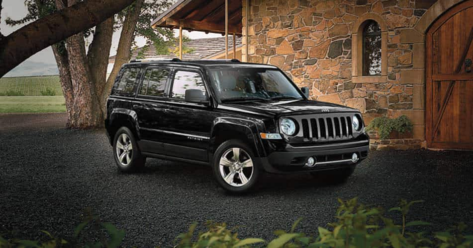 2015 jeep patriot rugged exterior features. Black Bedroom Furniture Sets. Home Design Ideas
