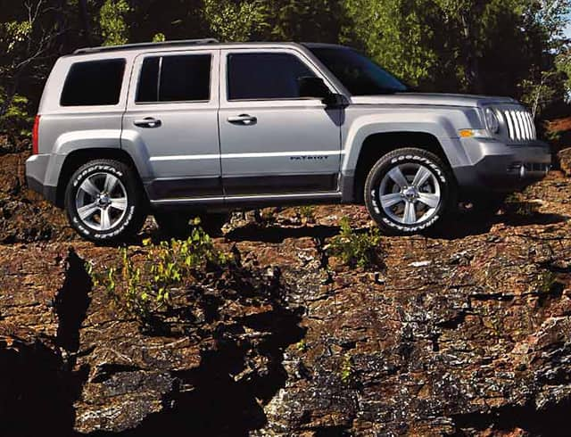 2015 Jeep Patriot  Affordable Compact SUV