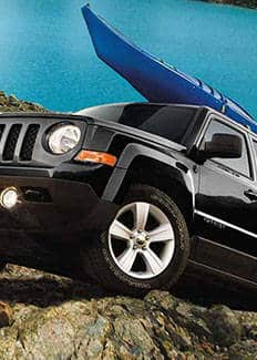2015 Jeep Patriot touring suspension