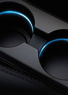 Interior015 Jeep Patriot Illuminated Cup Holders