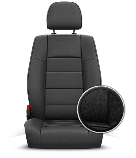 2015 Jeep Patriot Leather Seats in McKinley Gray