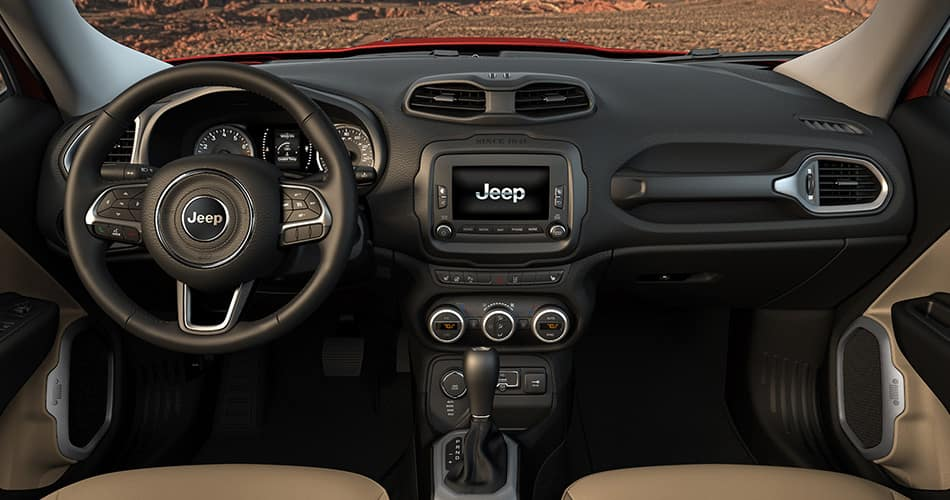 2015 Jeep Renegade Interior Features