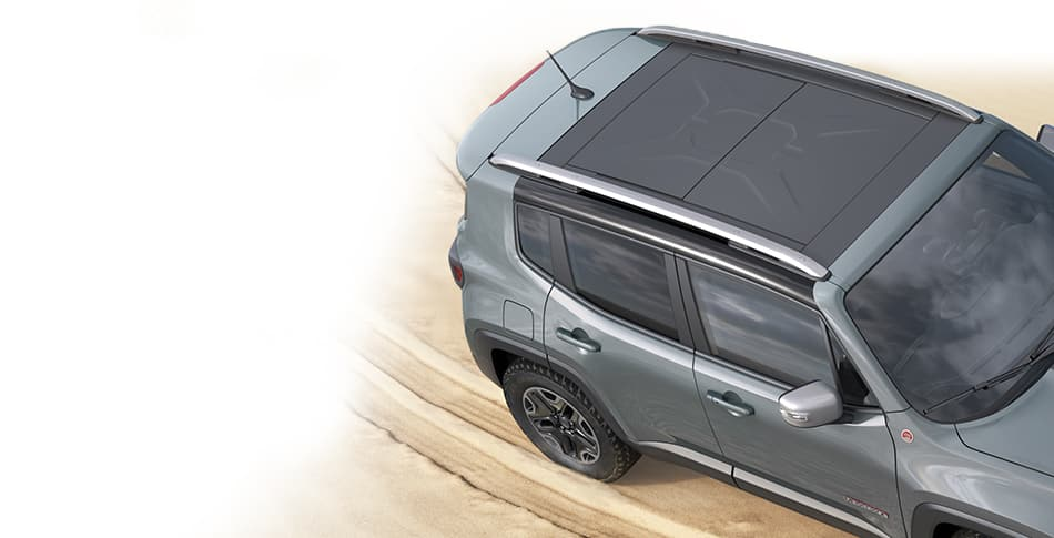 2015 Jeep Renegade My Sky Open Air Dual Pane Sunroof