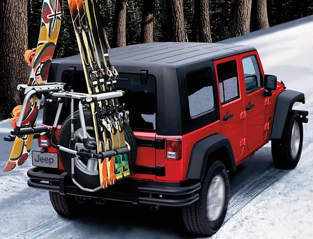 Thanks To A Portfolio Of Factory Engineered Quality Parts And Accessories Made Custom Fit Your Vehicle Shown With Ski Snowboard Carrier
