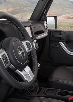 2015 Wrangler Unlimited Rubicon leather