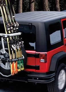2015 Wrangler Unlimited carriers