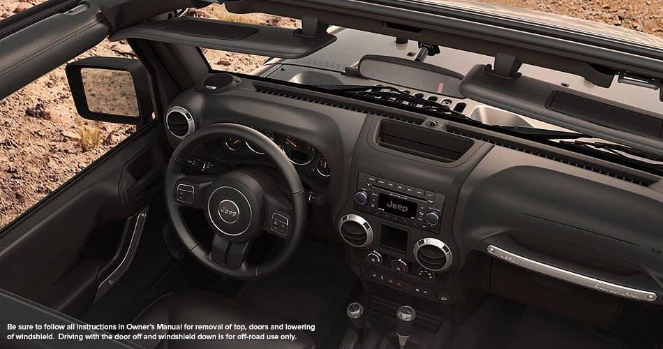 jeep wrangler 2015 interior. 2015 jeep wrangler interior top view l