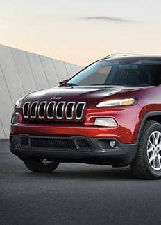 Jeep Cherokee Trailhawk chrome grille