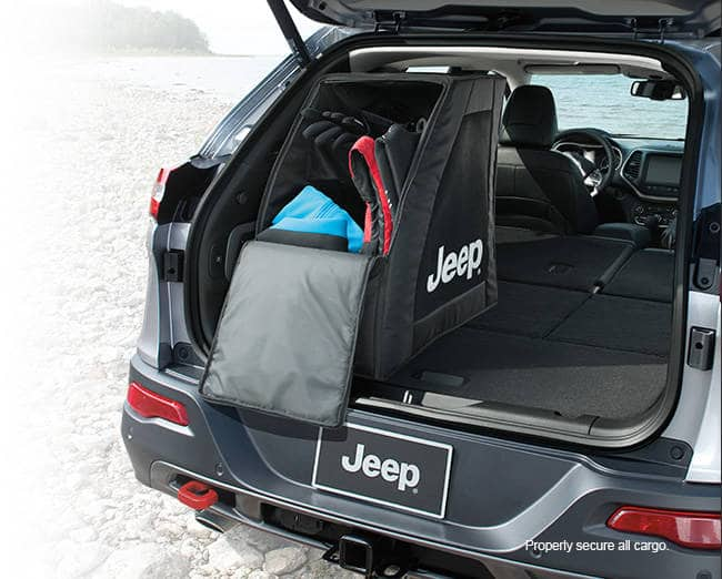 2016 Jeep Cherokee Cargo Management System Storage Locker