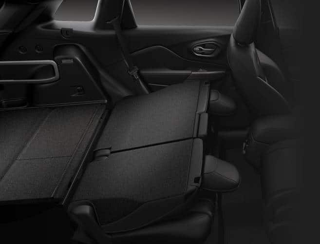 2016 Jeep Cherokee Seats Down for Storage
