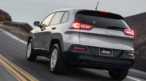 Control de velocidad del Jeep Cherokee 2016