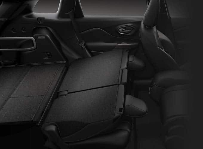 2016 Jeep Cherokee Seat Down Storage