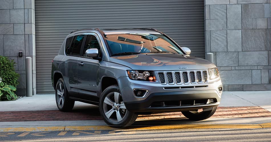 2018 Jeep Compass Outside Garage