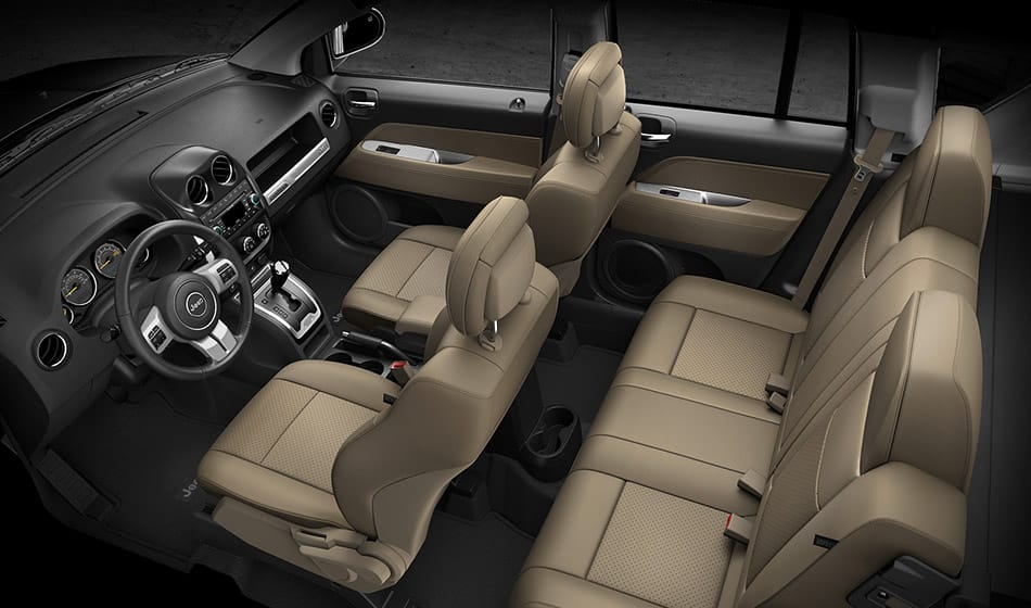 Interior View of Jeep Compass