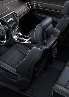 2016 Jeep Grand Cherokee Overland Seating