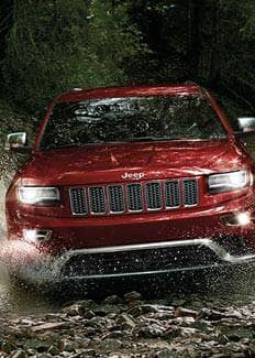 2016 Jeep Grand Cherokee Water Fording