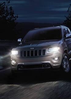 Faros HID del Jeep Grand Cherokee 2016