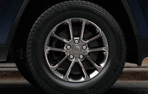 2016 Jeep Grand Cherokee 18-inch Wheels