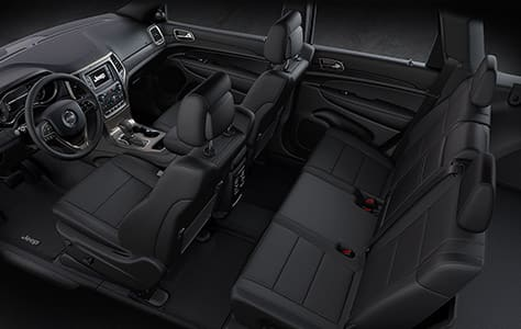 2016 Jeep Grand Cherokee Leather Seats