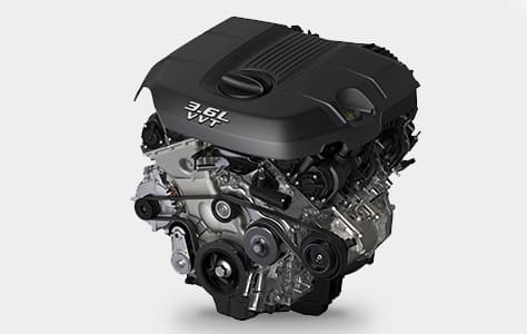 2016 Jeep Grand Cherokee V6 Engine