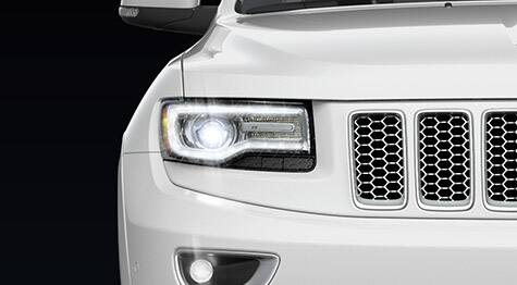 2016 Jeep Grand Cherokee headlamps