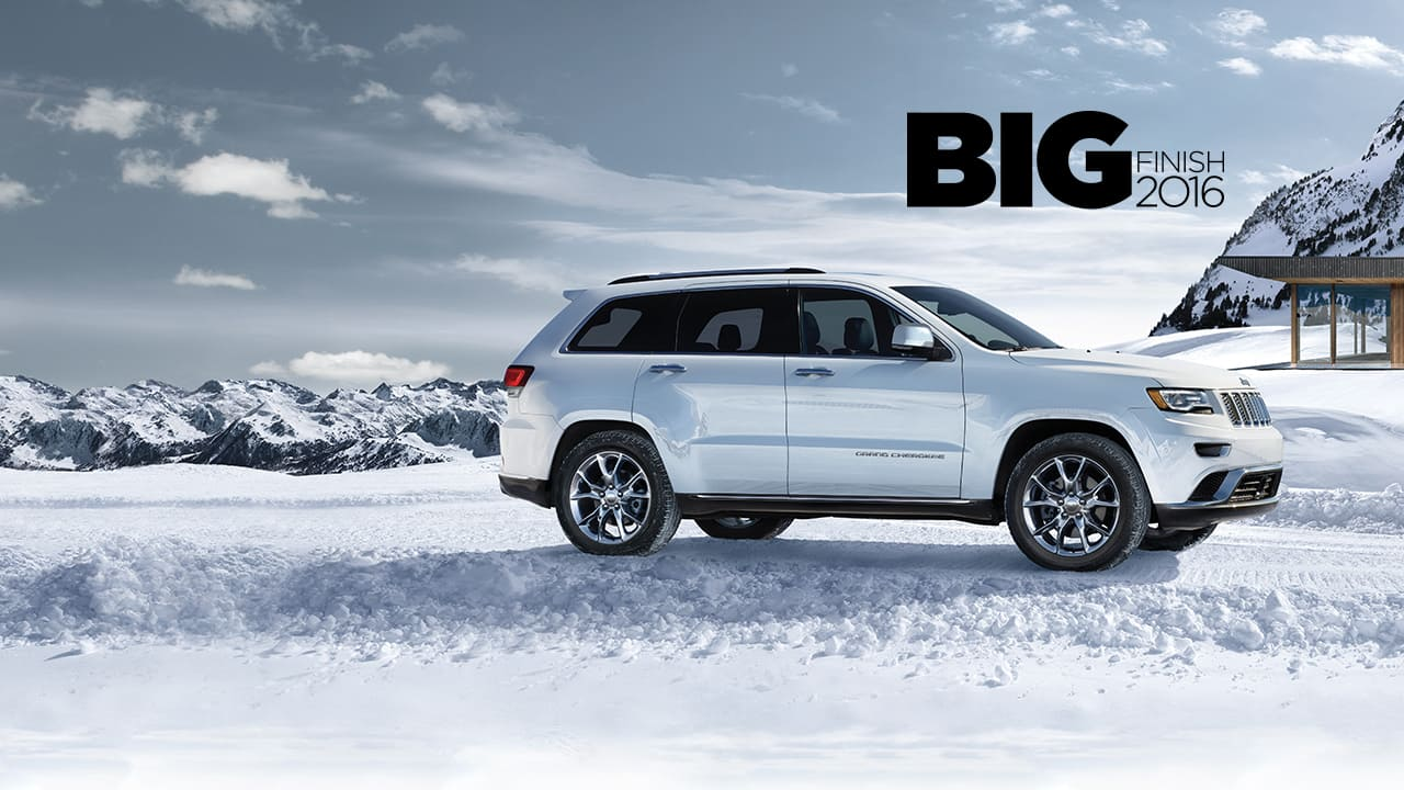 JEEP<sub>®</sub> GRAND CHEROKEE SUMMIT<sup>TH</sup> ANNIVERSARY EDITION