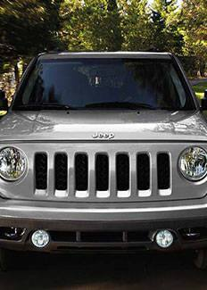 2015 Jeep Patriot Seven Slot Grille