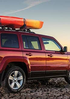 2015 Jeep Patriot Roof Rails