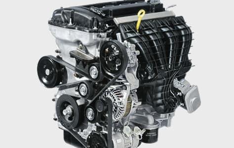 Motor del Jeep Patriot Sport 2016