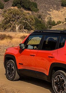 2016 Jeep Renegade Red Tow Hooks Thumbnail