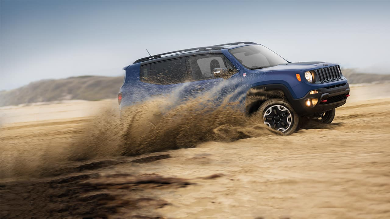 2016 Jeep Renegade pact SUV
