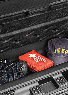 2016 Jeep Wrangler Unlimited Cargo Storage Bin