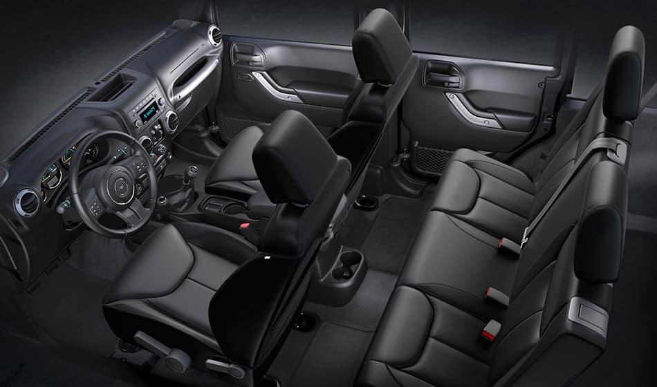 2018 Dodge Durango Seat Covers >> 2016 Jeep Wrangler Unlimited - Interior Comfort