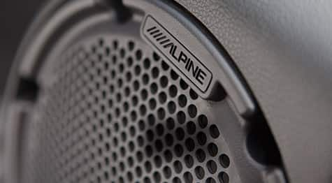 2016 Jeep Wrangler Unlimited Alpine Speakers