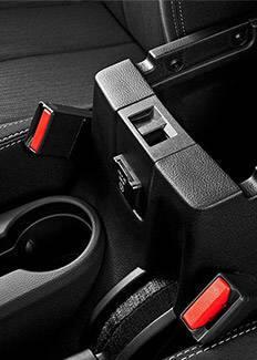 Consola central del Jeep Wrangler 2016